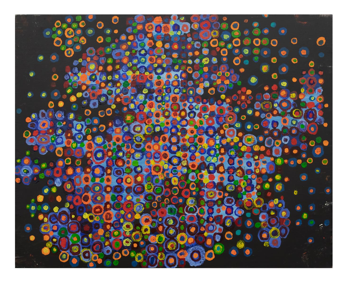 Massimo Kaufmann, Senza titolo, olio su tela, cm 40x50 [MK 003]