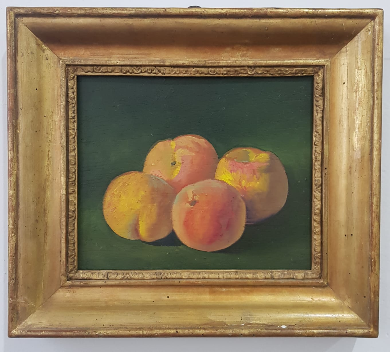 Salvo, Senza titolo, 1983, olio su tavola, cm 28,5x23,5