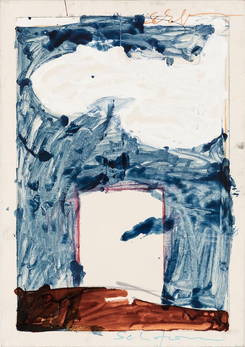 1970-73, olio su tela, cm 100x70