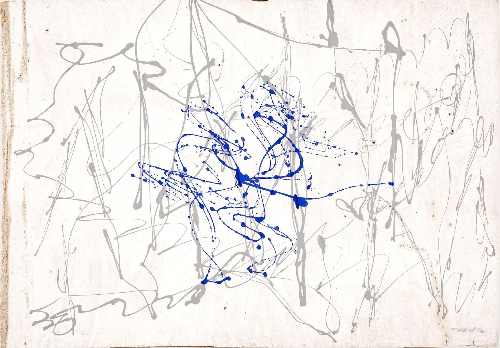 1970, olio e tecnica mista su gommapiuma, cm 70x100