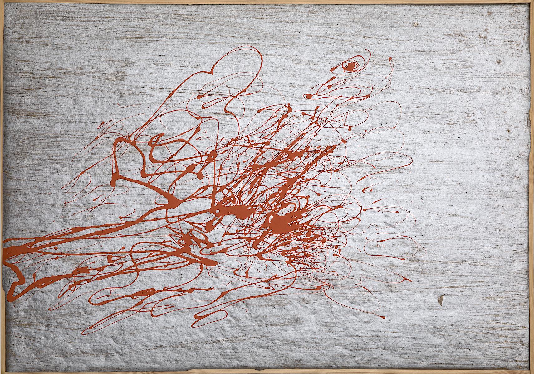 1970, olio e tecnica mista su tela, cm 70x100