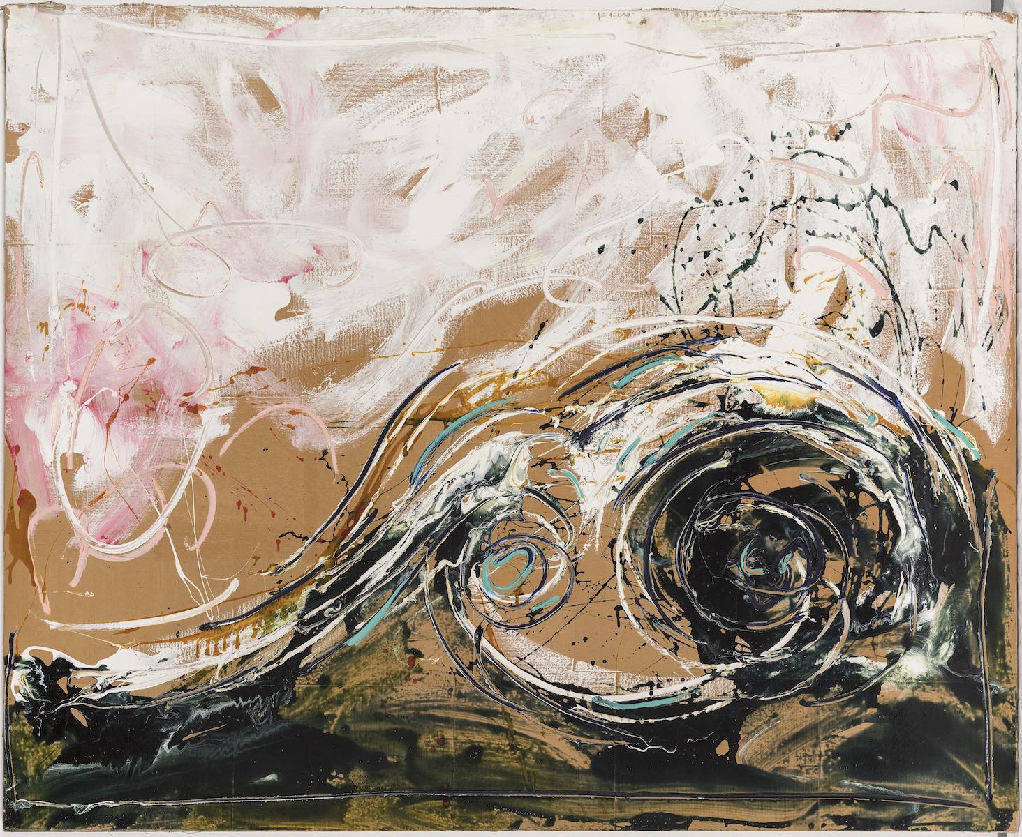 1983-84, smalto e acrilico su tela, cm 130x160