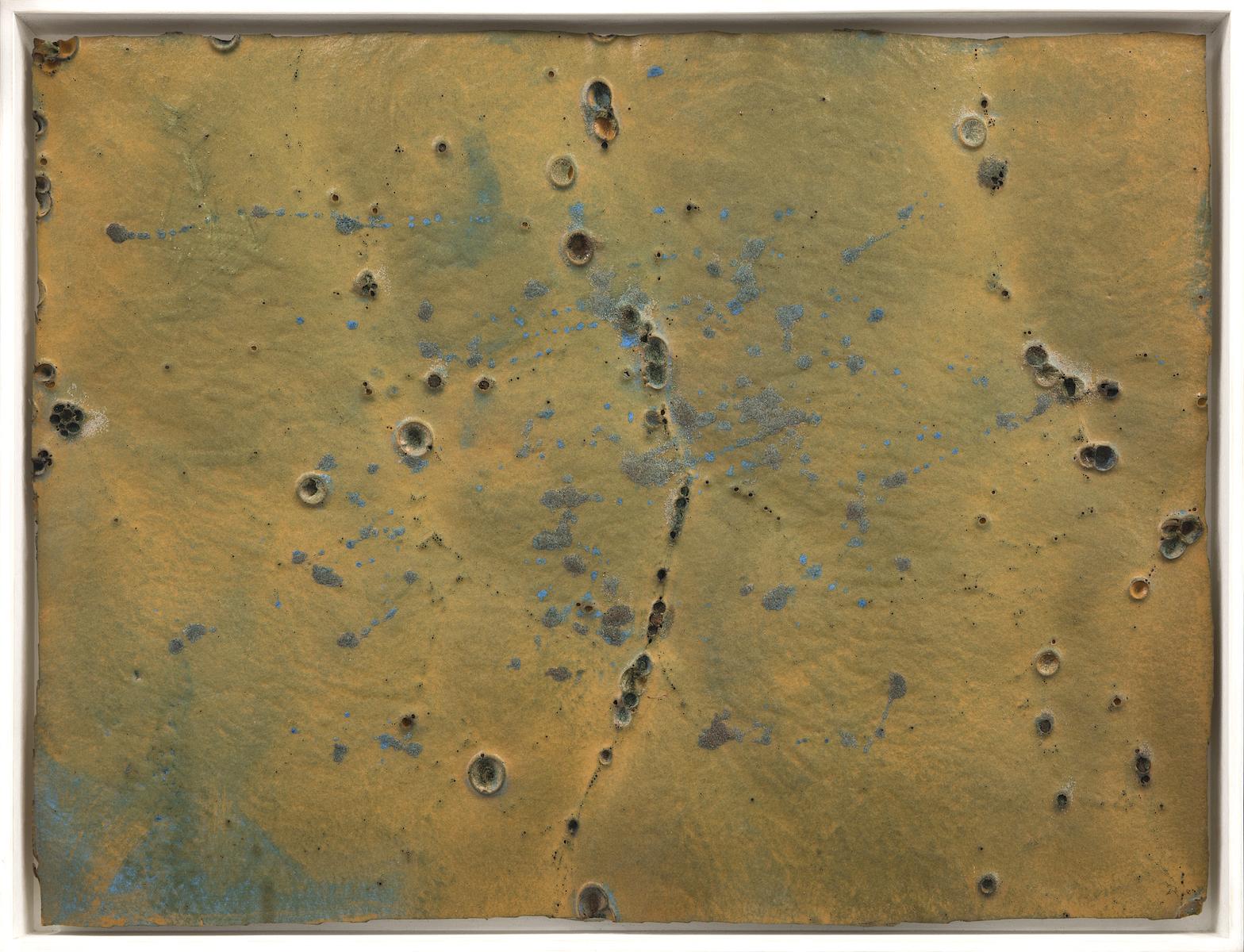 1969, olio e tecnica mista su gommapiuma, cm 60x80