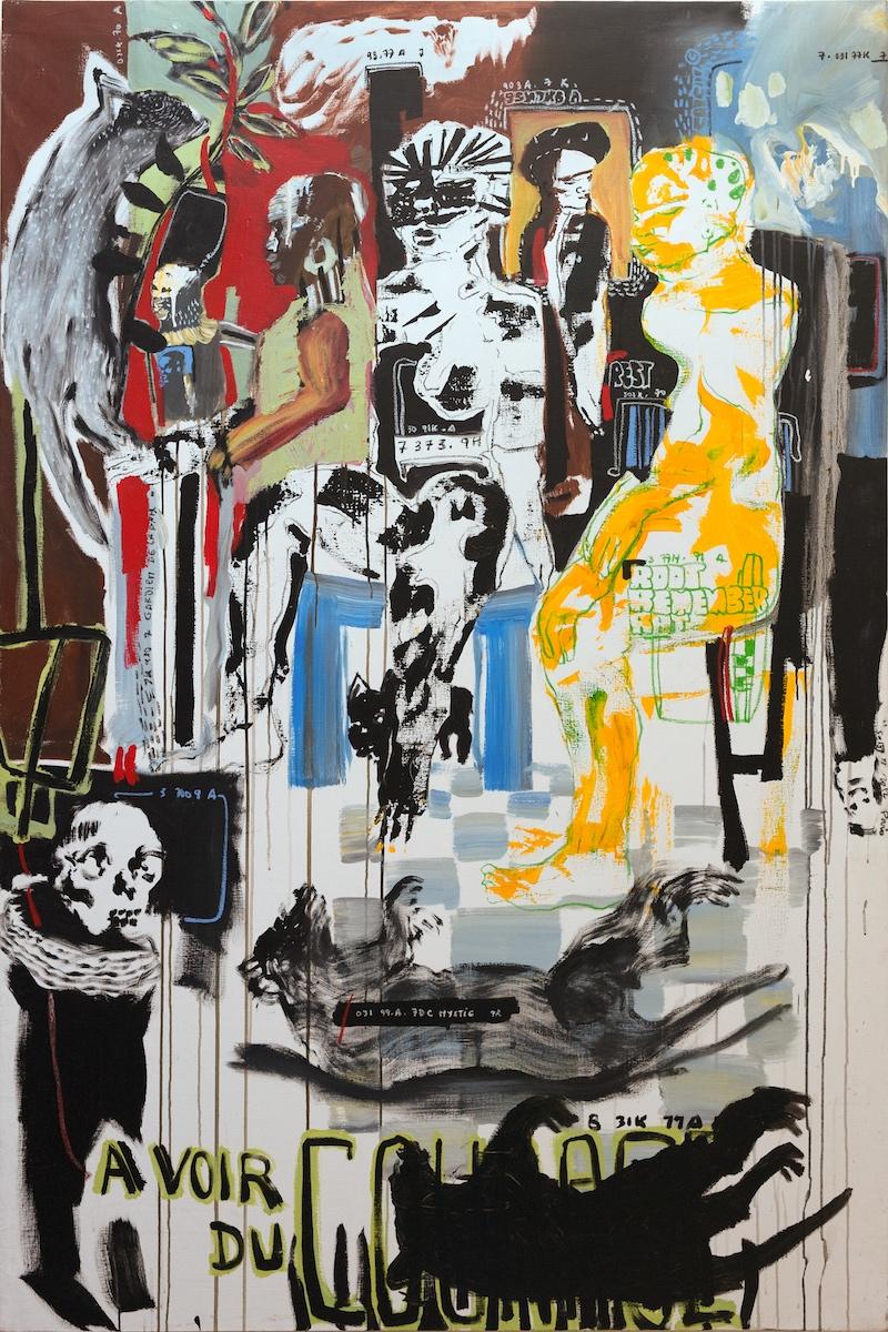 oil on canvas, cm 200x140
